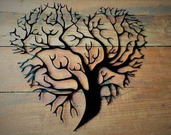 metal tree of life metal tree tree wall art tree wall decor - Metal Tree Wall Decor