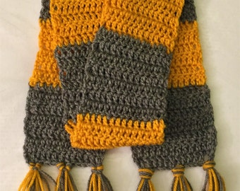 Fantastic Beasts, Crochet Scarf, Hogwarts Houses, Handmade, Fantastic Beasts costume, Newborn Baby Adult Teens Harry Potter, Newt Scamander