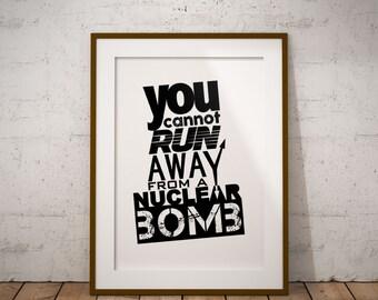 Motivational poster, Digital Art, Home and office decor.