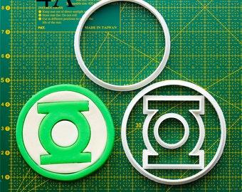 Green Lantern Fondant Cutter  green lantern ring green lantern mask green lantern shirt green lantern svg green lantern fabric
