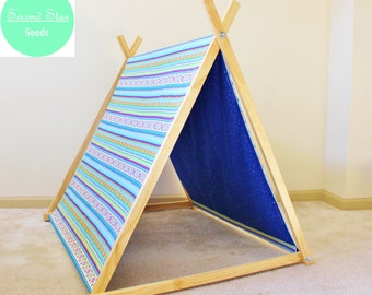 Kids Teepee | Reversible Teepee | Play Tent | Tipi |Teepee Tent | Play Tents | Childrens Teepee | Wigwam | Tent | Play Teepee