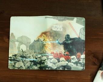 Star Wars Passport Cover, Darth Vader Passport Holder, Geek genuine leather passport cover holder
