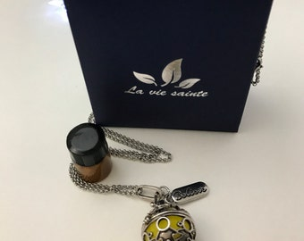 Beautiful essential oil locket