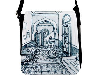 "Ferret Sketch Bag ""Homecoming"""