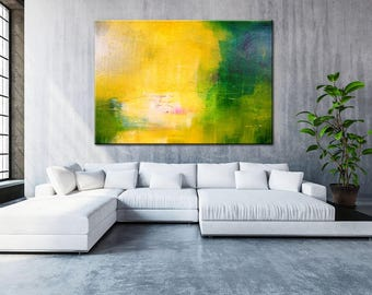 Colorful Large Art, Natural Colors, Minimal Decor Art, Original Large Art, Texture knife, Contemporary artwork, Large Art, Acrylic Large Art
