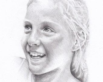 """Custom Portrait Size 28 x 20cm (11"""" x 8"""")"""
