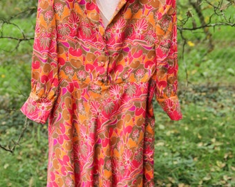 Funky Psychedelic SuperColorful Dress
