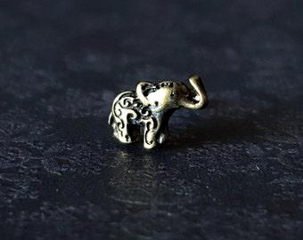 Elephant Nose Stud (20G)