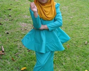 Mint Green Orked Dress