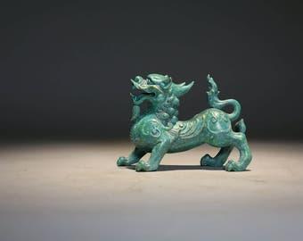 Pixiu Bronze Sculpture, Pixiu the Wealth & Good Fortune Collector