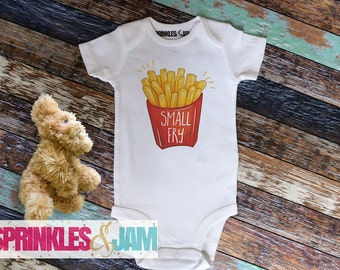 Small Fry Onesie ®, Hipster Kid Shirt, Funny Baby Onesies, Baby Shower Gift, Baby Clothes