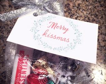 Merry Kissmas Gift Tags