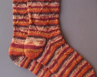 Braces chestnut socks