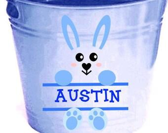 Easter Monogram SVG, Easter SVG, Split Monogram SVG, Easter Bunny svg, Silhouette File, Cricut File, Boy Svg Files, Cut Files, Clipart, Dxf