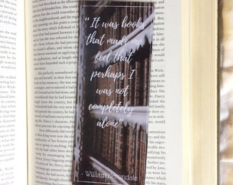 Will Herondale The Infernal Devices Quote Bookmark