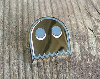 Ghosty Ghost Pin – Enamel Lapel Pin