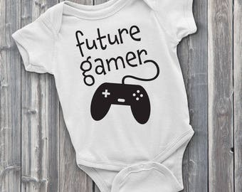 Future Gamer, Video Game Onesie, Gamer Onesies, Baby Shower Gift Ideas, Gifts for Gamers, Nerd Baby Clothes, Funny Onesie, Funny Onesies,