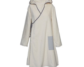 Wrap robe nature for women