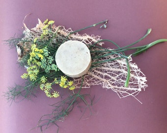 bar of SOAP with wild fennel * ~ flowers, decorative