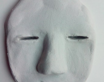 Hand made clay mask