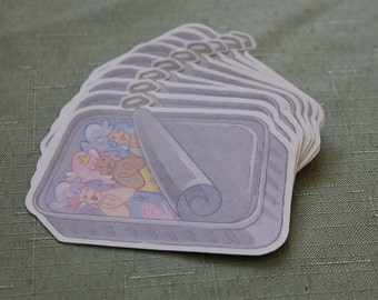 Sardine Mermaids Sticker