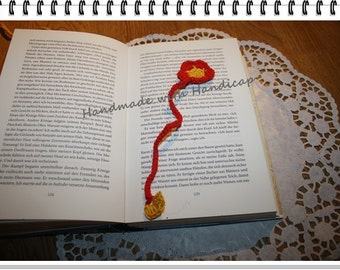 "Bookmark ""little flower"""