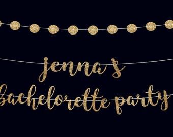 Bachelorette banner custom banner bachelorette party banner vegas party bachelorette party garland engaged banner bachelorette photo props
