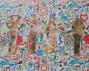 Giraffes Sticker Set