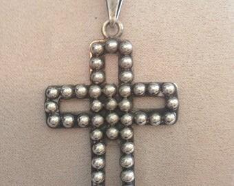 Brenda Schoenfeld Vintage Cross Pendant