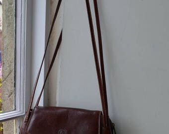 Beautiful brown leather Giudi bag