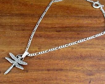 925 Sterling Silver Dragonfly Bracelet