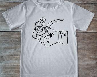 Pipe shirt, smoking pipe, retro pipe, smoking tee, tattoo shirt, classic tattoo art, old school shirt, hipster gift, gift tattoo lover