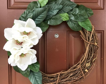 Magnolia Blossom wreath