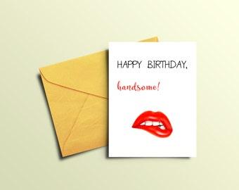printable sexy card  etsy, Birthday card