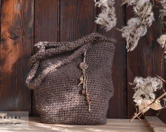 Crochet bag - handmade -