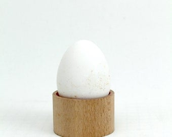 Flat Egg Shell Made Of Beech Wood - TheWoodManStore
