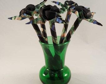 Origami Rose Pens - Set of 5