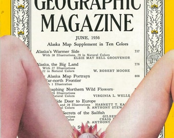 Original Art Print 'National Geographic'