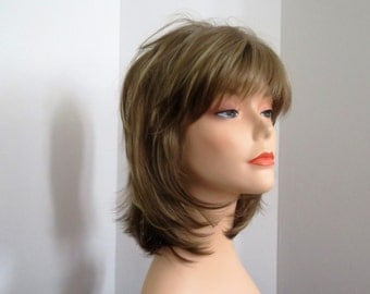 Styled Rene of Paris designer feathered wig Bailey