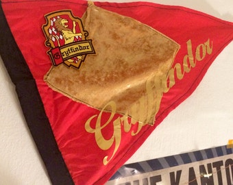 Gryffindor themed pennant