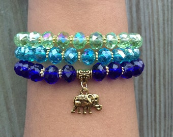 Elephant Mantra Bracelet