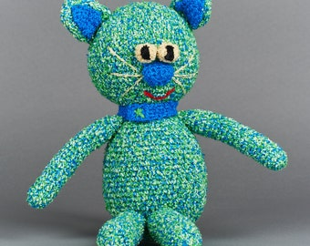 Cat, Handmade wool animal figure