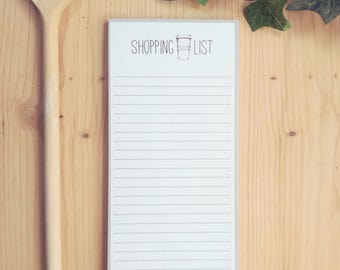 Notebook // Notepad // Shopping List // Shop List // To - Do List