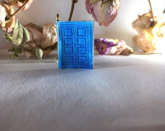 River Song's Diary (Doctor Who)- Miniature Book Charm Necklace