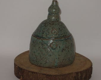 Wheel Thrown and Altered Pottery Lidded Box