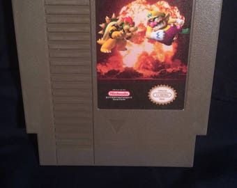 Bowser VS Wario NES Game