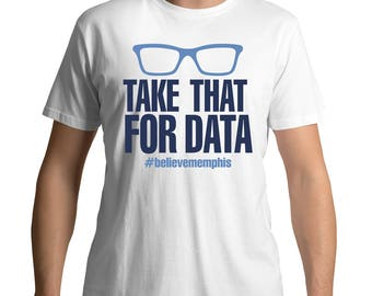 Dont Rook Me Grizzlies Data Tee Grizzlies Data Shirt David Fizdale David Fizdale Rant Take That Data Tee Take That For Data
