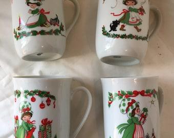 Little Miss Sugarplum Mug Set - 1981 - Commemorative Edition