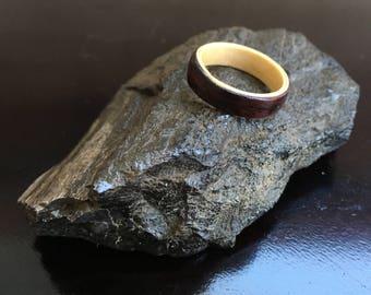 Dual Bentwood Ring