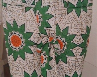Floral cloth handmade bag